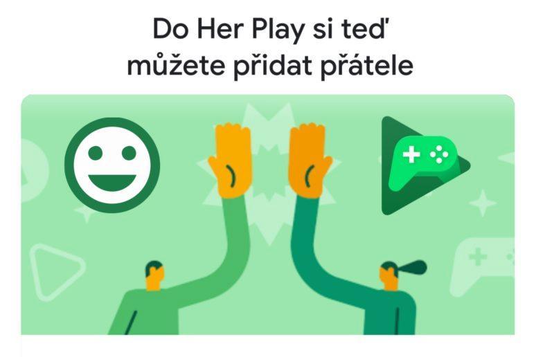 Hry Google Play přátelé