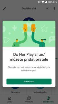 Hry Google Play přátelé screen 1