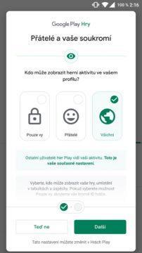Hry Google Play přátelé screen 2