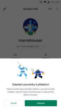 Hry Google Play přátelé screen 4