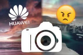 Huawei klame fotkami