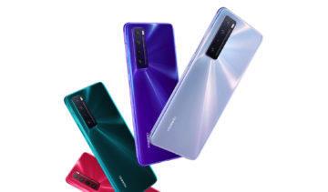Huawei nova 7 5G záda
