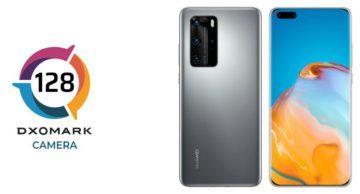 Huawei P40 Pro DxOMark fotoaparaty skore