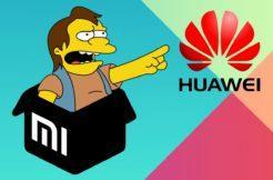 Huawei Xiaomi vzkaz nelson