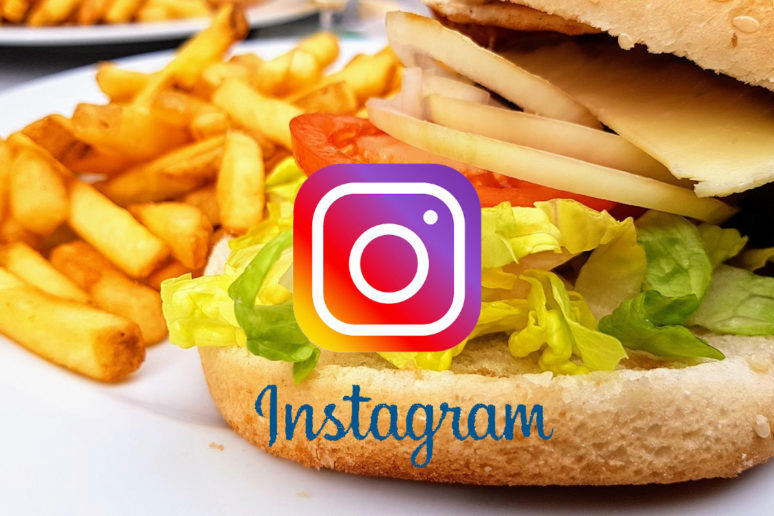 Instagram jídlo přímo z aplikace