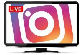 Instagram Live na webu
