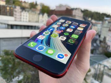 iphone se 2020 displej