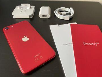 iphone se červená