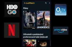 JustWatch - sledování filmů na Androidu