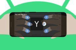 klávesnice s Braillovým písmem pro Android