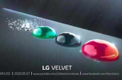 LG Velvet datum představení