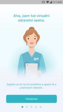 mobilní aplikace uLékaře.cz screenshot 1