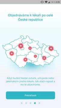 mobilní aplikace uLékaře.cz screenshot 3