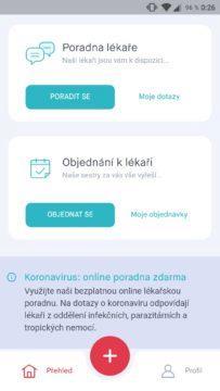 mobilní aplikace uLékaře.cz screenshot 4