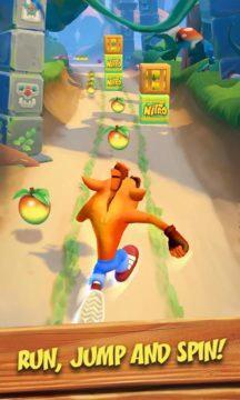 mobilní Crash Bandicoot 3
