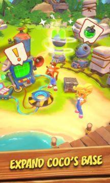 mobilní Crash Bandicoot 4