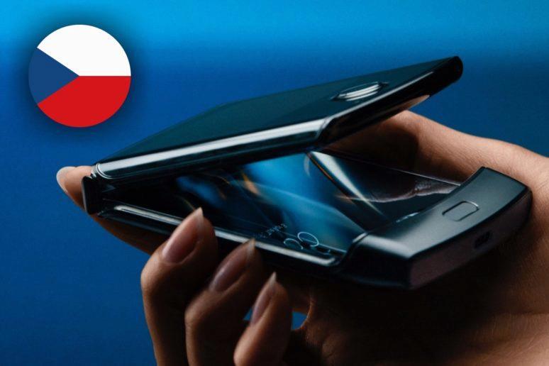 Motorola Razr 2019 prodej v ČR