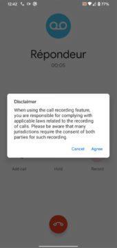 nahrávání hovorů Google Telefon Nokia Indie 2