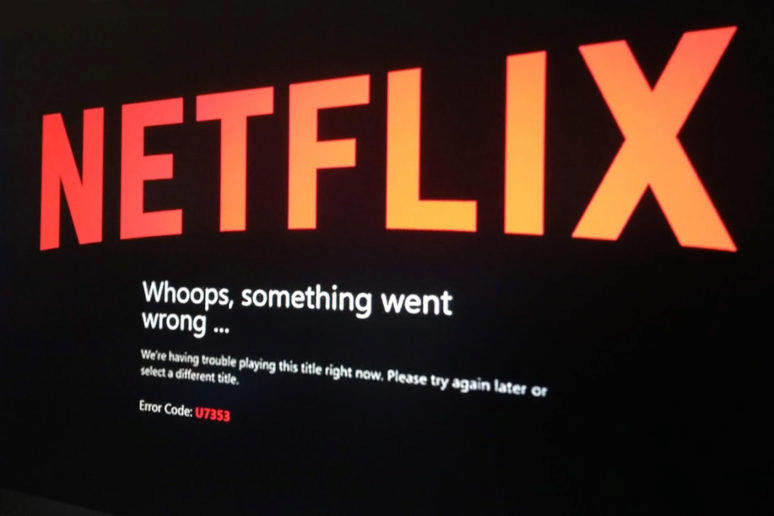 Netflix postihl v Evropě výpadek
