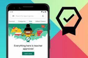 Obchod Play aplikace pro děti