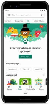 Obchod Play aplikace pro děti screen 1