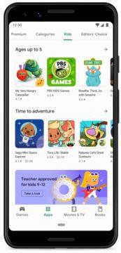 Obchod Play aplikace pro děti screen 2