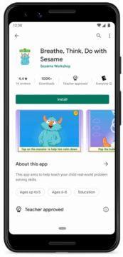 Obchod Play aplikace pro děti screen 3