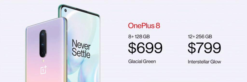 OnePlus 8 ceny