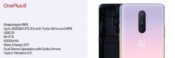 OnePlus 8 parametry 4