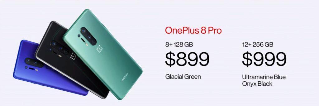 OnePlus 8 Pro ceny