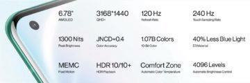 OnePlus 8 Pro parametry 2