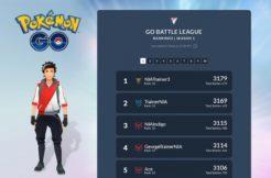 Pokémon GO žebříček