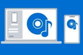 přehrávání hudby Váš telefon windows