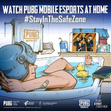 PUBG Mobile Covid19 kampan stainthesafezone 2