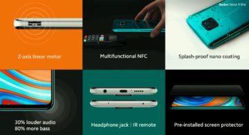 Redmi Note 9 Pro funkce