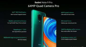 Redmi Note 9 Pro specifikace