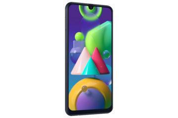 Samsung Galaxy M21 L-Perspective_Black