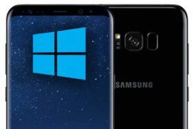 Samsung Galaxy S8 Windows 10