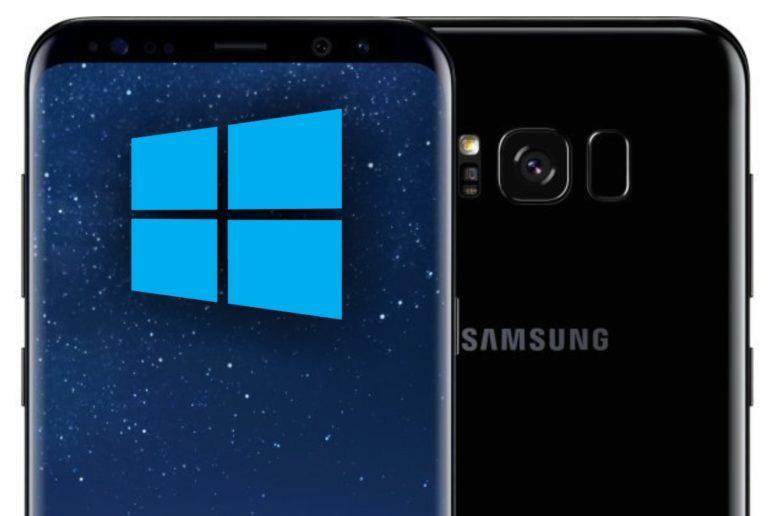 Samsung Galaxy S8 Windows 10