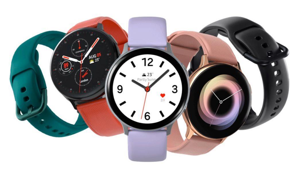 Samsung Galaxy Watch Active2 měření krevního tlaku