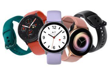 Samsung Galaxy Watch Active2 měření krevního tlaku titul