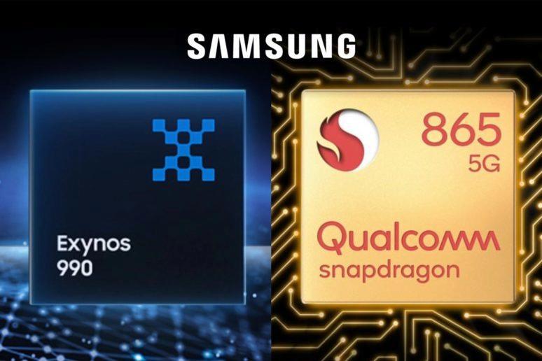 Snapdragon 865 Exynos 990 samsung vysvetleni