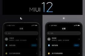 tmavý režim MIUI 12