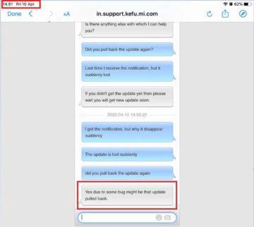 Xiaomi Mi A3 update potreti zastaveny