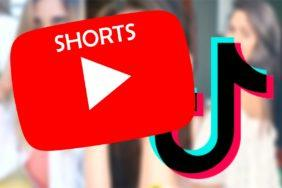 YouTube Shorts konkurence tiktoku