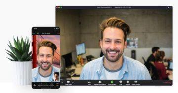 Zoom video chat conference