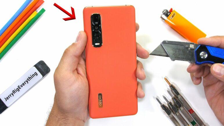 A Vegan Smartphone?! - Oppo Find X2 Pro Durability Test!