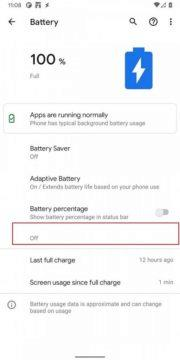 Android 11 Developer Preview 4 Battery Share aneb Reverse Charging 1