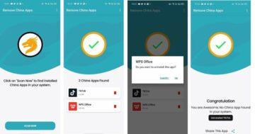 aplikace Remove China Apps