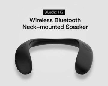 Bluedio Bluetooth reproduktor na krk 1